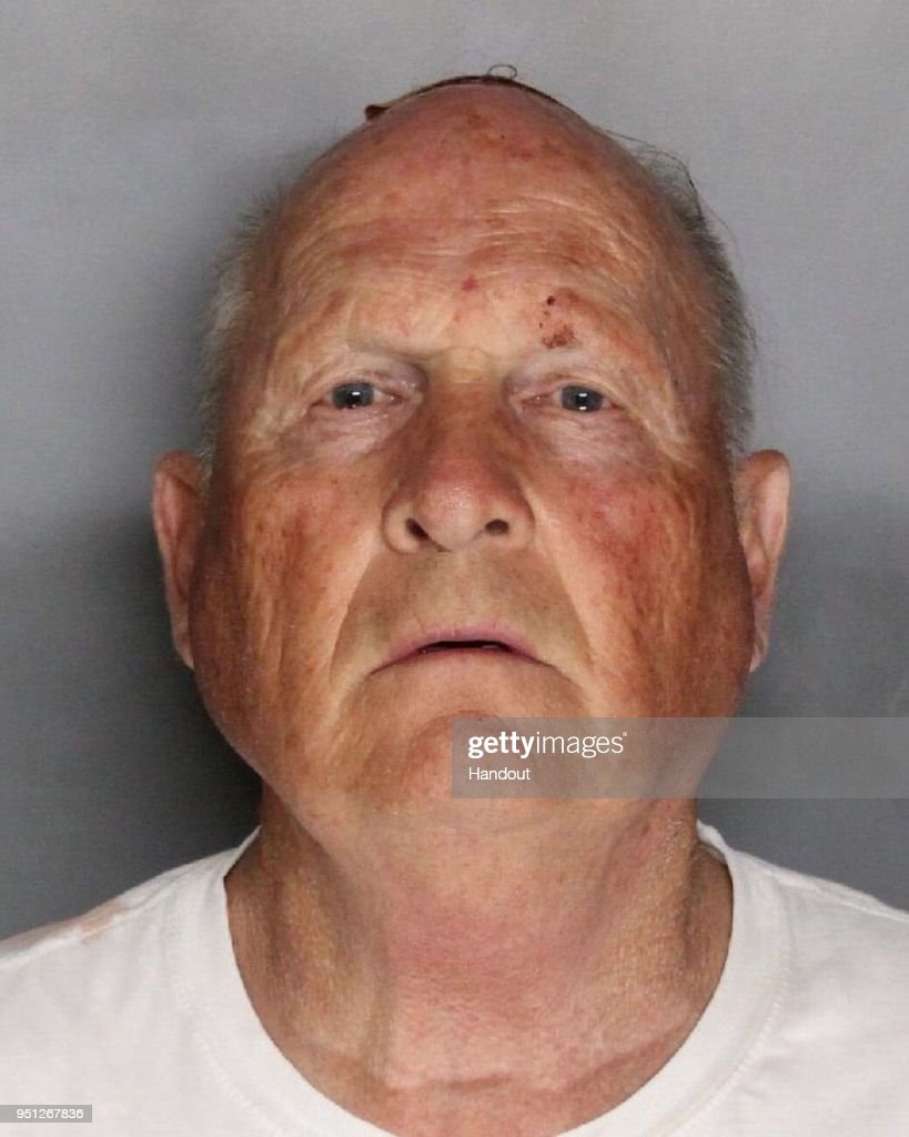 In this handout provided by the Sacramento County Sheriff's Department, Joseph James DeAngelo, 72, is shown in his booking photo April 25, 2018 in Sacramento, California. DeAngelo was booked on two counts of murder, but police say he may be responsible for at least 12 murders and 45 rapes in a series of attacks that began more than 40 years ago, ending abruptly in 1986.