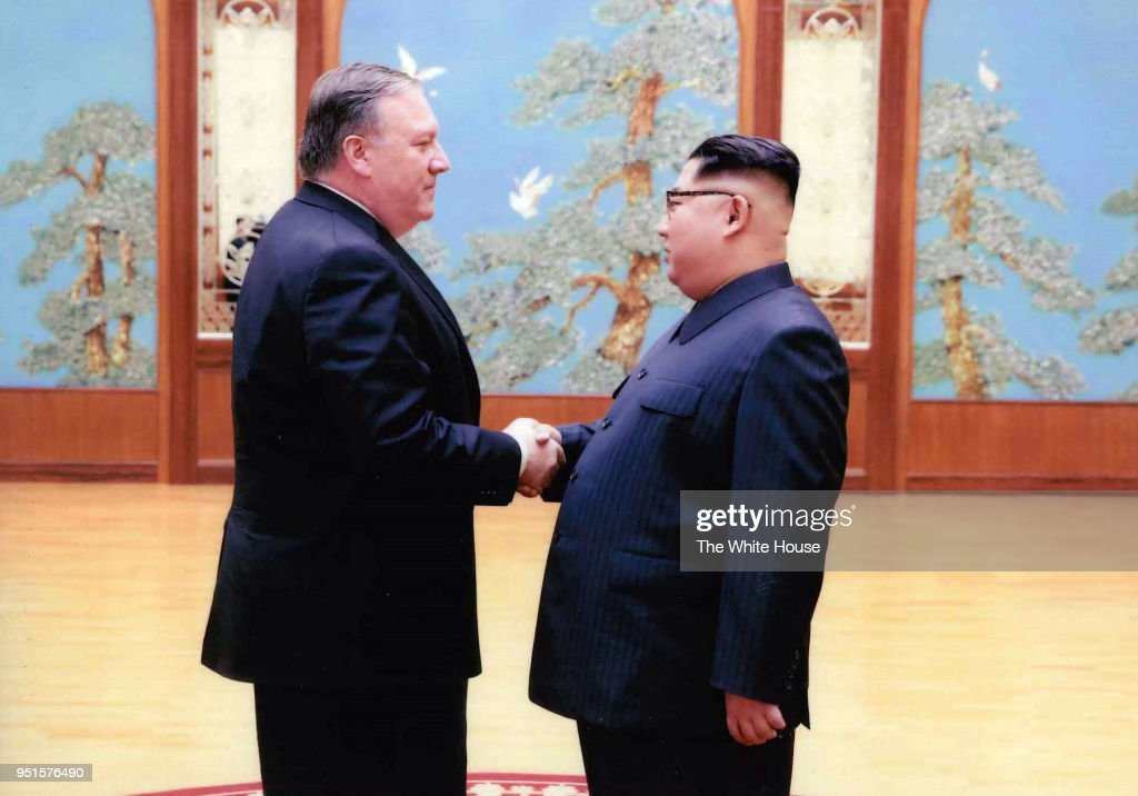 Pompeo Meets With Kim Jong Un : News Photo