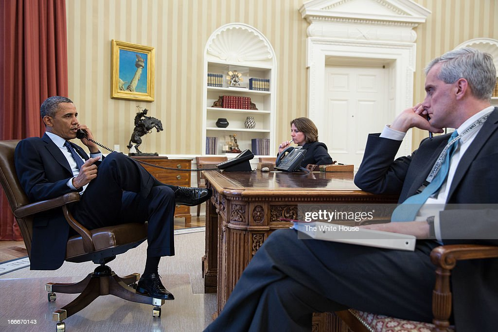 At The Oval Office Desk