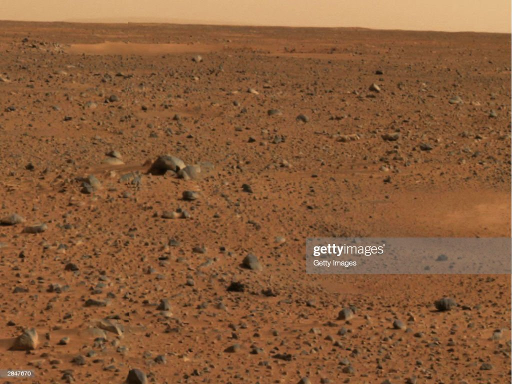 First Color Pictures Of Mars Rover Released : News Photo