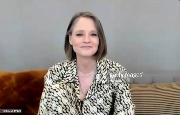 In this handout screengrab Jodie Foster winner of Best Performance by an Actress in a Supporting Role in any Motion Picture speaks the 78th Annual...