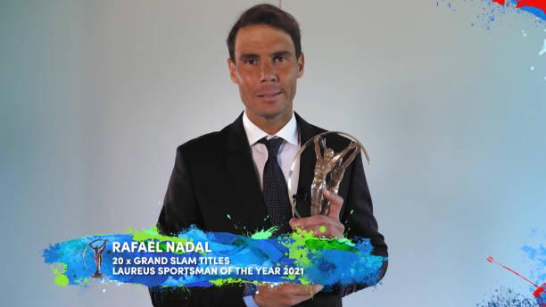 ESP: Laureus World Sports Awards 2021 Virtual Award Ceremony