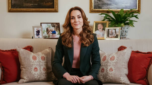 GBR: The Duchess Of Cambridge To Release Landmark Research On Early Years