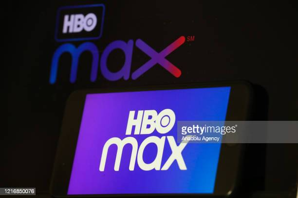 In this illustration photo HBO Max logos are displayed on a mobile phone and a laptop screen in Ankara Turkey on June 1 2020