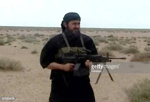 In this image from a video released May 4 2006 by the US Department of Defense Abu Musab alZarqawi purportedly the leader of alQaida in Iraq is shown...
