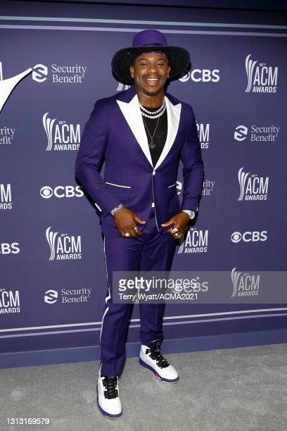 In this image released on April 18, Jimmie Allen attends the 56th Academy of Country Music Awards at the Bluebird Cafe on April 18, 2021 in...