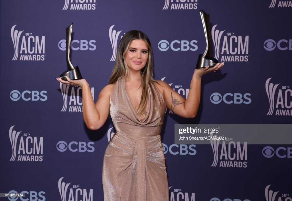 56th Academy Of Country Music Awards - Backstage : News Photo