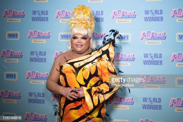 In this image released on April 19, Kandy Muse attends RuPaul's Drag Race Season 13 Finale at Ace Hotel at Ace Hotel on April 08, 2021 in Los...