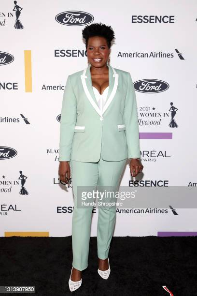 In this image released on April 22 Leslie Jones attends ESSENCE Black Women in Hollywood Awards in Los Angeles, California.