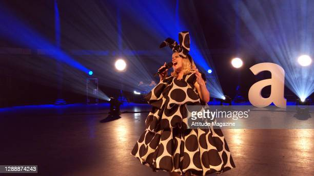 In this image released on December 1 Singer Paloma Faith performs during the Virgin Atlantic Attitude Awards Powered By Jaguar broadcast on December...