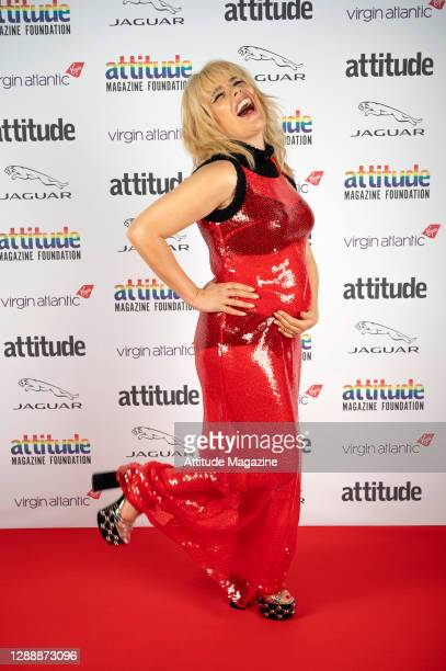 In this image released on December 1 Singer Paloma Faith poses on the red carpet during the Virgin Atlantic Attitude Awards Powered By Jaguar...