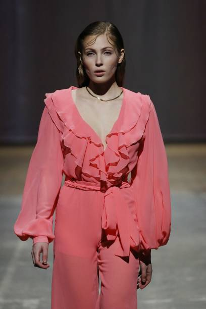DEU: Lana Mueller - Mercedes-Benz Fashion Week Berlin January 2021