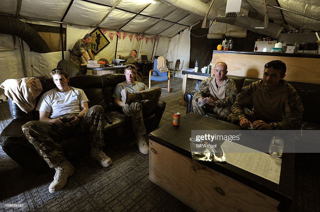 Prince Harry In Afghanistan : News Photo