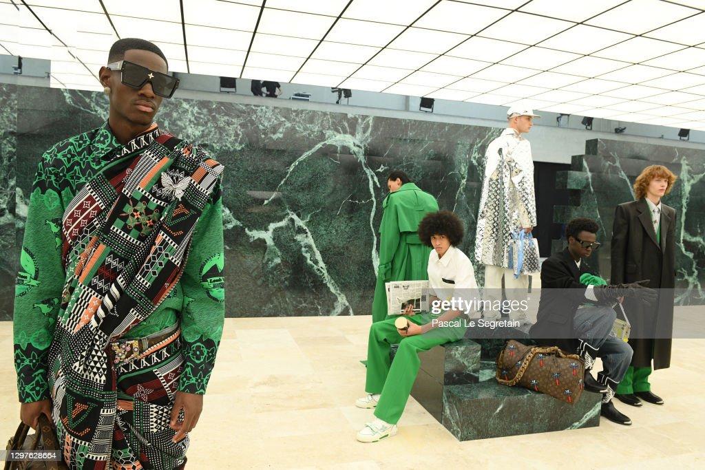 Louis Vuitton : Runway - Paris Fashion Week - Menswear F/W 2021-2022 : News Photo