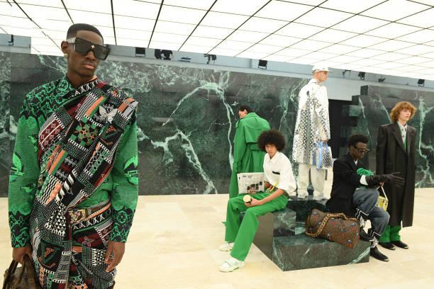 FRA: Louis Vuitton : Runway - Paris Fashion Week - Menswear F/W 2021-2022