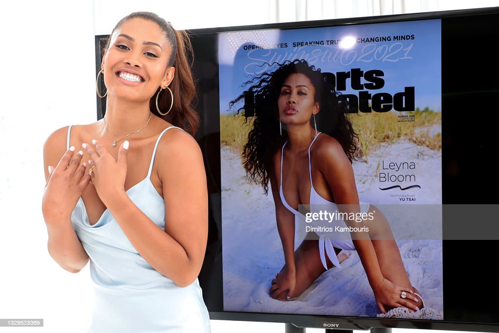 Leyna Bloom 2021 Sports Illustrated Swimsuit Cover Reveal : Nyhetsfoto