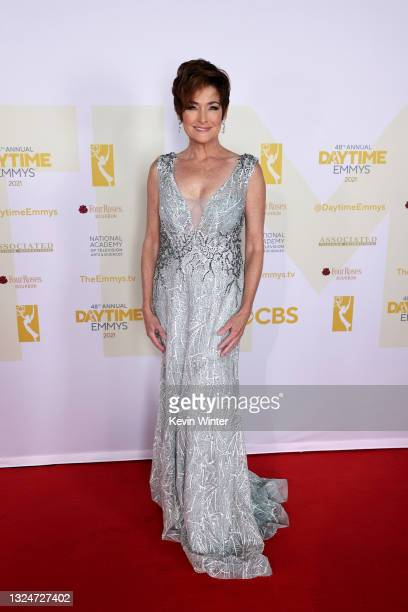 In this image released on June 21, Carolyn Hennesy attends the 48th Annual Daytime Emmy Awards at Associated Television Int'l Studios in Burbank,...