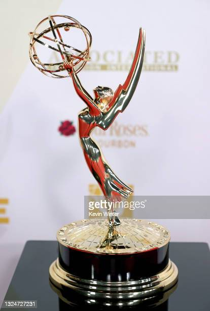 In this image released on June 21, Emmy statuette is seen at the 48th Annual Daytime Emmy Awards at Associated Television Int'l Studios in Burbank,...