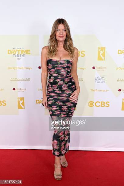 In this image released on June 21, Michelle Stafford attends the 48th Annual Daytime Emmy Awards at Associated Television Int'l Studios in Burbank,...