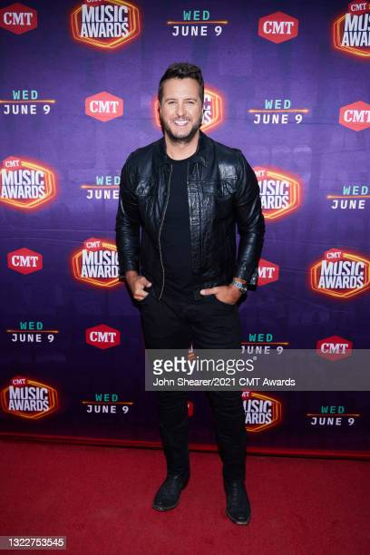 In this image released on June 9th Luke Bryan attends the 2021 CMT Music Awards in Nashville, Tennessee broadcast on June 9, 2021.