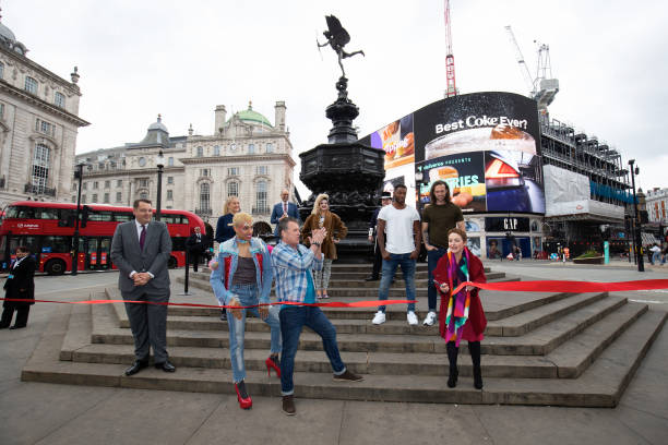 GBR: Official Reopening Of London's West End - Photocall