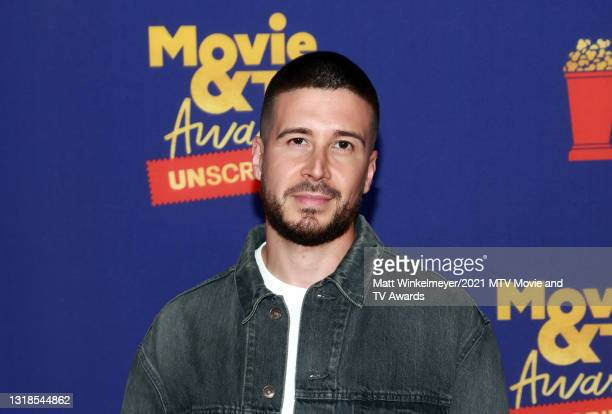 In this image released on May 17, Vinny Guadagnino attends the 2021 MTV Movie & TV Awards: UNSCRIPTED in Los Angeles, California.