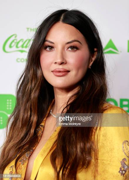 In this image released on May 2, Olivia Munn attends Global Citizen VAX LIVE: The Concert To Reunite The World at SoFi Stadium in Inglewood,...