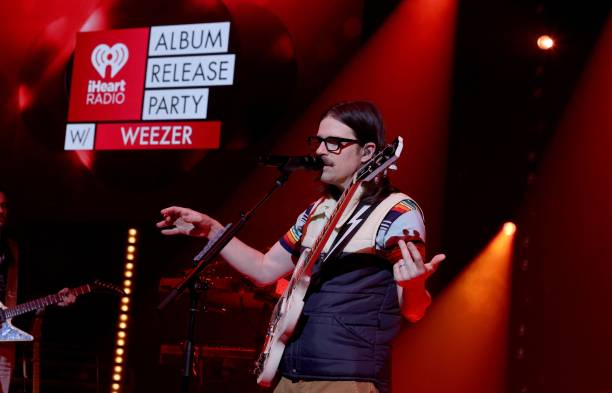 CA: iHeartRadio Album Release Party With Weezer At The iHeartRadio Theater Los Angeles