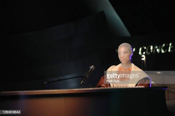 In this image released on November 08, Alicia Keys performs for at the MTV EMA's 2020 on November 01, 2020 in Los Angeles, California. The MTV EMA's...