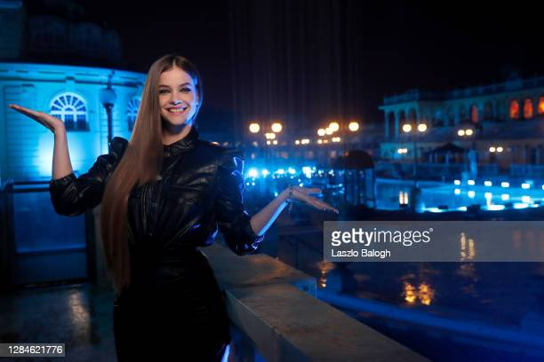 In this image released on November 08, Barbara Palvin poses ahead of the MTV EMA's 2020 on October 25, 2020 in Budapest, Hungary. The MTV EMA's aired...