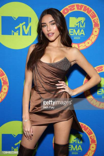 In this image released on November 08, Madison Beer poses at the MTV EMA's 2020 on October 30, 2020 in Los Angeles, California. The MTV EMA's aired...