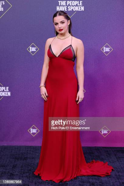 In this image released on November 15, Addison Rae arrives at the 2020 E! People's Choice Awards held at the Barker Hangar in Santa Monica,...