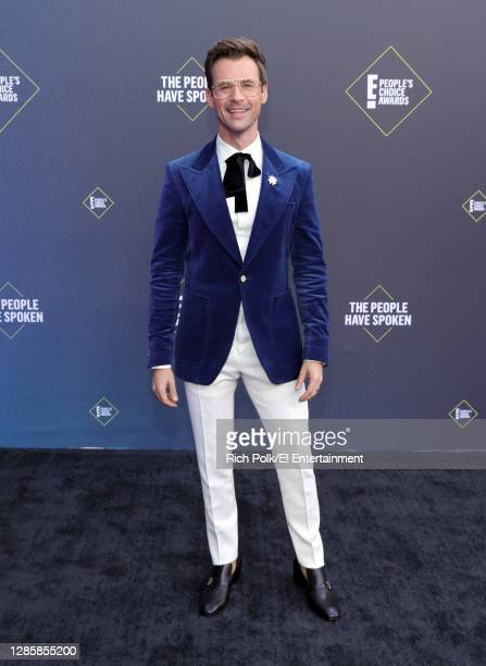In this image released on November 15, Brad Goreski arrives at the 2020 E! People's Choice Awards held at the Barker Hangar in Santa Monica,...