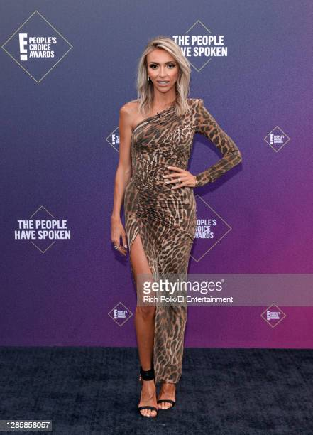 In this image released on November 15, Giuliana Rancic arrives at the 2020 E! People's Choice Awards held at the Barker Hangar in Santa Monica,...