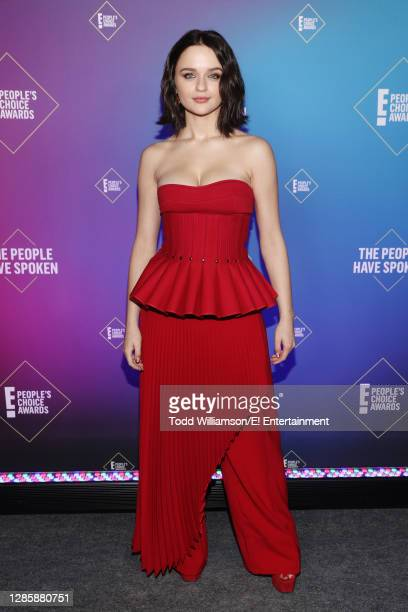 In this image released on November 15, Joey King, The Comedy Movie Star of 2020, attends the 2020 E! People's Choice Awards held at the Barker Hangar...