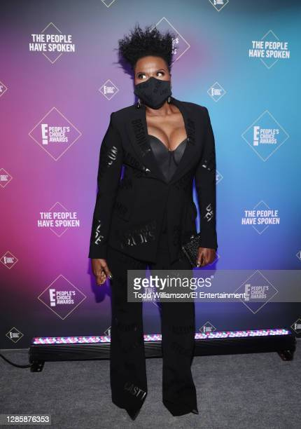 In this image released on November 15, Leslie Jones attends the 2020 E! People's Choice Awards held at the Barker Hangar in Santa Monica, California...
