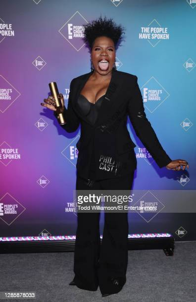 In this image released on November 15, Leslie Jones, The Comedy Act of 2020, attends the 2020 E! People's Choice Awards held at the Barker Hangar in...