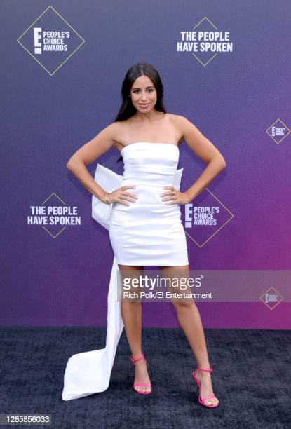 In this image released on November 15, Naz Perez arrives at the 2020 E! People's Choice Awards held at the Barker Hangar in Santa Monica, California...