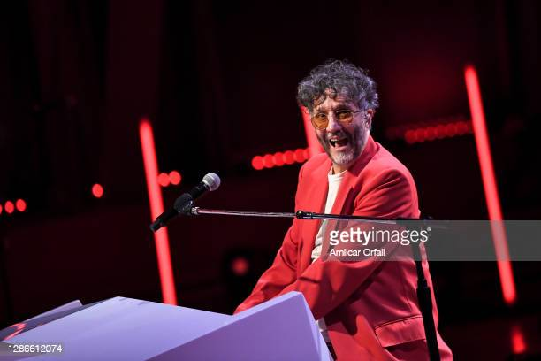 In this image released on November 19 Fito Páez performs at the 2020 Latin GRAMMY Awards on October 30, 2020 in Buenos Aires, Argentina. The 2020...
