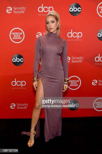 In this image released on November 22, Kristin Cavallari attends the 2020 American Music Awards at Microsoft Theater on November 22, 2020 in Los...