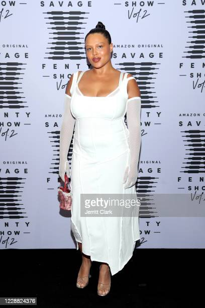 In this image released on October 1 Alva Claire attends Rihanna's Savage X Fenty Show Vol 2 presented by Amazon Prime Video at the Los Angeles...