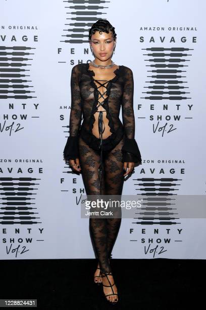 In this image released on October 1 Ciarda Hall attends Rihanna's Savage X Fenty Show Vol 2 presented by Amazon Prime Video at the Los Angeles...