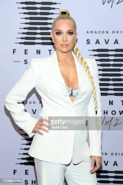 In this image released on October 1 Erika Jayne attends Rihanna's Savage X Fenty Show Vol 2 presented by Amazon Prime Video at the Los Angeles...