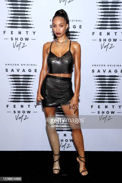 In this image released on October 1 Lyric Mariah attends Rihanna's Savage X Fenty Show Vol 2 presented by Amazon Prime Video at the Los Angeles...