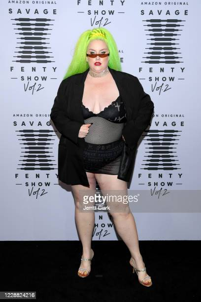 In this image released on October 1 Margie Plus attends Rihanna's Savage X Fenty Show Vol 2 presented by Amazon Prime Video at the Los Angeles...
