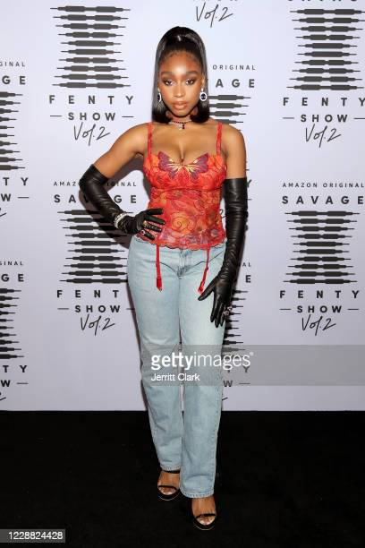 In this image released on October 1 Normani attends Rihanna's Savage X Fenty Show Vol 2 presented by Amazon Prime Video at the Los Angeles Convention...