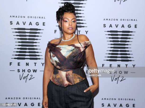 In this image released on October 1, Paloma Elsesser attends Rihanna's Savage X Fenty Show Vol. 2 presented by Amazon Prime Video at the Los Angeles...