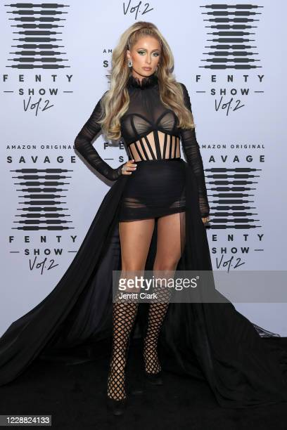 In this image released on October 1 Paris Hilton attends Rihanna's Savage X Fenty Show Vol 2 presented by Amazon Prime Video at the Los Angeles...