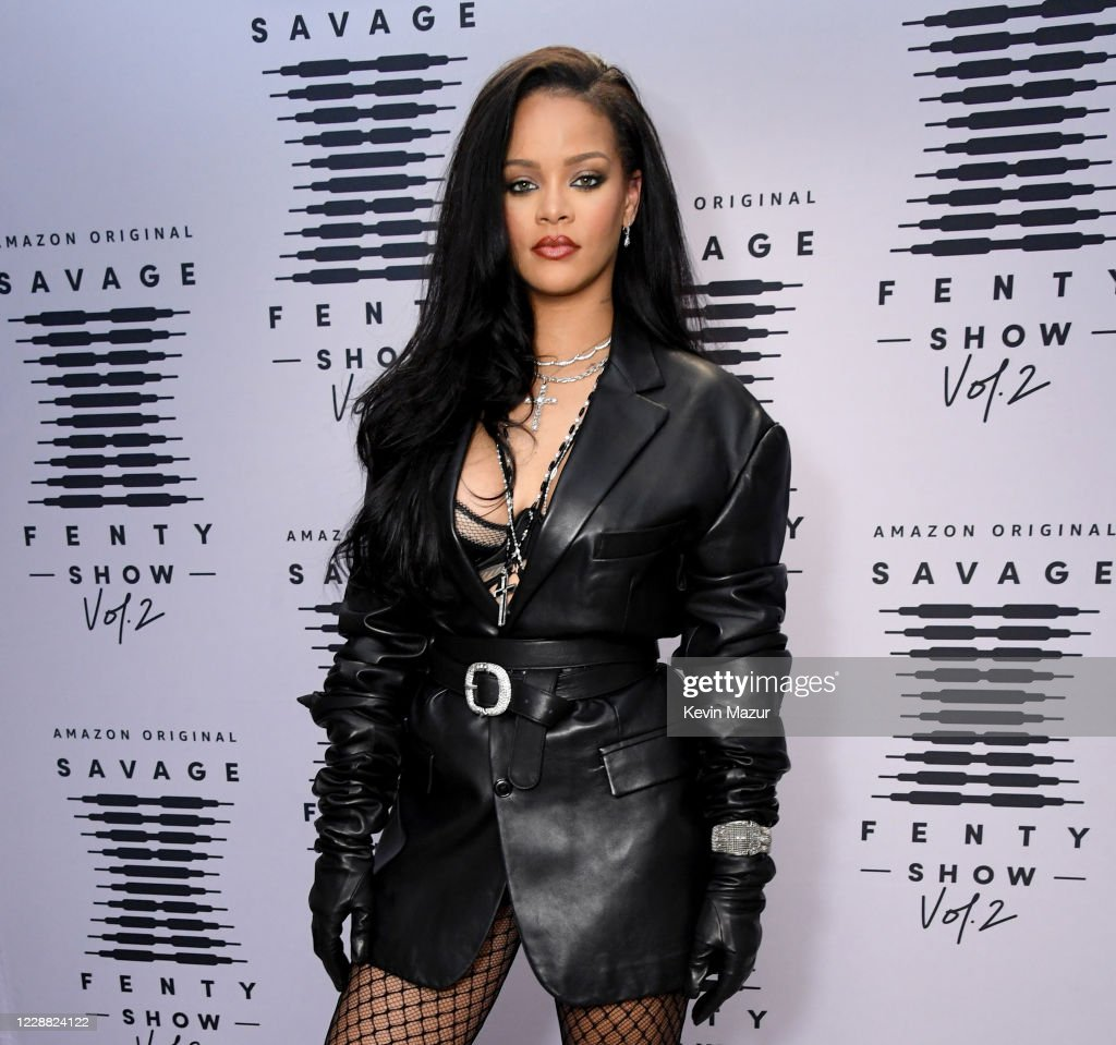 Rihanna's Savage X Fenty Show Vol. 2 presented by Amazon Prime Video  Step and Repeat : News Photo
