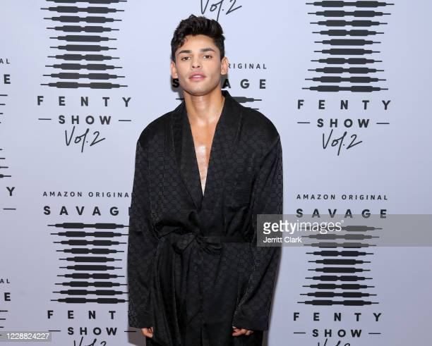 In this image released on October 1 Ryan García attends Rihanna's Savage X Fenty Show Vol 2 presented by Amazon Prime Video at the Los Angeles...